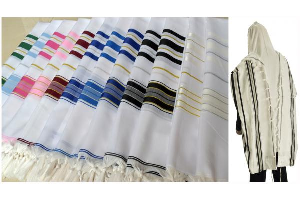 <font color=#010080>Regular Acrylic Prayer Shawls in Big Size</font>