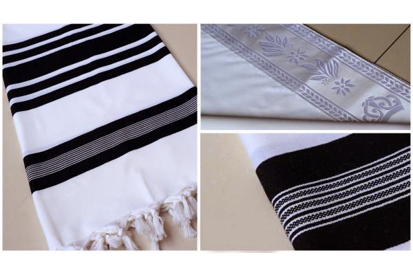 <font color=#010080>Traditional Wool  Tallit</font>
